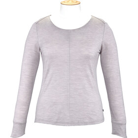 Alchemy Merino Essential - T-shirt manches longues Femme - gris